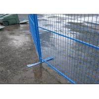 China Security removable construction Canada temporary fencing galvanized or pvc coated for sale
