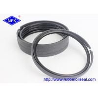 China Bronze PTFE Hydraulic Piston Rings 30-90 Shore Hardness For CATERPILLAR Excavator for sale