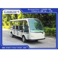 China Low Speed 72V 5.5KW Mini Electric Sightseeing Car / 14 Seats Electric Shuttle Bus for sale