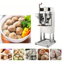 Automatic core meatball machine, commercial mutifuctional meat ball making machine for sale