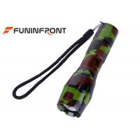 China CREE T6 Camouflage Zoom LED Flashlight supplier