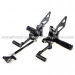Custom Motorcycle Rear Sets / Aluminum Alloy Motorcycle Foot Pegs for sale