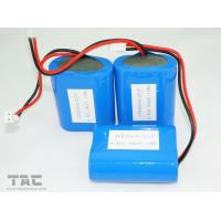 High Capacity 6.4v  3.3AH 3.2V LiFePO4 Battery Pack / Lithium ion Solar Battery for sale