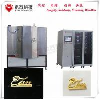 Magnetron Sputtering PVD Vacuum Coating Machine For Luxury Handbags Metal Accessories for sale