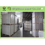 China Printable C1S Folding Box Board Ivory Cardboard 230gsm ~ 400gsm Even Thickness for sale