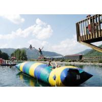 Floating Inflatable Water Trampolines , Lake Inflatable Water Blob for sale