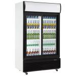 China 410L Capacity Beverage Cooler Refrigerator Digital Temperature Control for sale