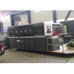 High Speed Corrugated Carton Machine , Corrugated Box Die Cutting Machine for sale