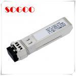 10G 80km SFP Optical Module CWDM 1470nm~1610nm 10G Duplex LC Connector for sale