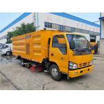 China ISUZU High Pressure Road Washing and Sweeping Truck Vacuum Road Sweeper Truck manufacturer