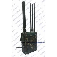 China 80 Meter High Power Backpack Signal Jammer Manpack Portable GSM 4G Cell Phone Signal Jammer for sale