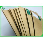 China Uncoated Board Food Paper Type Brown Kraft FDA Certified Virgin Kraft Liner 250G for sale