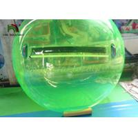 2m Green PVC Inflatable Walk On Water Ball  / Inflatable Water Walking Ball for sale