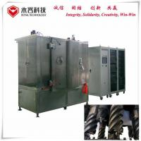 China Stainless Steel Drill Black Thin Film Coating Machine MF Sputtering UL Standard for sale