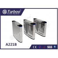 Bi - Directional Swing Optical Barrier Turnstiles Gate With 35p/M Pass Rate for sale