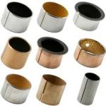 Steel Backed Ptfe Lined Bushings Lubrication Free With Excellent Wear Resistance for sale