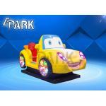 China 2 Player Kiddy Ride Machine , Genius Racer Fiberglass Kids Swing Car Machine Game for sale