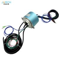 2 channels fiber optical rotary joint forj Electro Optical Slip Ring for encoder servo motor signal line