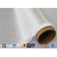 Heat Insulation Woven Roving Fiberglass Fabric For Robot Processes for sale