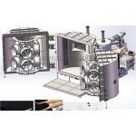 China Tweezer PVD Chrome Vacuum Metalizing Machine 2 - Doors Planar Sputter for sale
