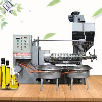 Screw oil press machine rapeseeds soybean oil making machine cold press oil seeds for sale