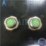 China MIL-DTL-38999 Series III Electrical Power Connectors Adopting Triple - Start Threaded Quick Connection D38999/24FG35SN for sale
