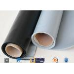 China 530g E-Glass Silicone Coated Fiberglass Cloth For Electrical Insulation Cover for sale