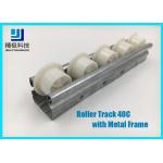 Slider Roller Track Type 40C Width 40mm Metal Frame for Conveyors and Flow Rack for sale