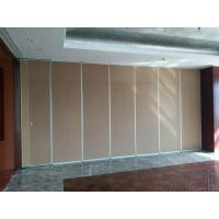 Conference Room Mobile Folding Sliding Partitions Decorative Acoustic Room Divider Price for sale