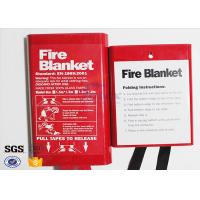 Flame Retardant Fabric Fiberglass Fire Blanket for Thermal Heat Protection for sale