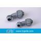 China 3/4 Nonmetallic Nylon 90 Degree Connector for Liquid Tight Conduit/PVC Liquid tight Conduit Connectors 90 degree for sale