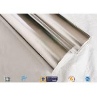 Moisture Proof 450g Durable Aluminium Foil Fiberglass Fabric Silver Laminated for sale