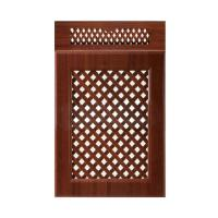 Kitchen Bathroom Cabinet Doors Wooden Ventilated With Customized Surface for sale