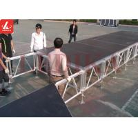 Portable High Quality Customized Aluminum Stage Platform For T Runway Theater for sale