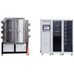 Magnetron Sputtering PVD Vacuum Coating Machine,  IPG Blue MF sputtering machine for sale