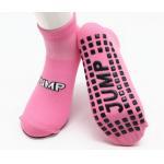 China Jump XL Trampoline Park Non Slip Socks UK Yoga Socks Pattern Trampoline Socks For Toddlers for sale