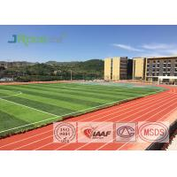 Resilient Track And Field Surface Material , Outdoor Running Track Surface for sale