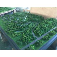 China 1.4x1.2m Trees Model Making Materials For Architectural Tourist Mountain , Display Working Maquette for sale