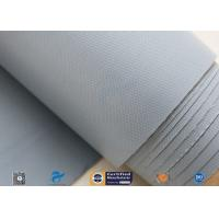 0.25mm 280g Waterproof PVC Coated Fiberglass Fabric Cloth For Flexible Fabric Duct for sale