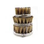 Industrial Drum Sander Wire Brush Hard Sisal Brush For Wooden Furniture for sale