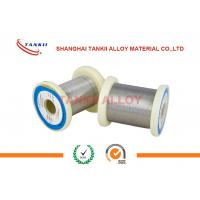 Round Fecral Alloy Wire Smooth Surface Stable Resistivity For Resistor Elements for sale