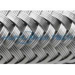 China High Grade Stainless Steel Braided Hose Sleeve 0.10 - 0.30mm Easy Installation for sale