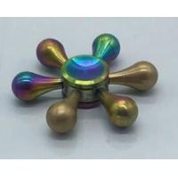 China 6 Sides Tri - Spinner Rose Gold PVD Coating / Sapphire PVD Titanium Nitride Coating supplier