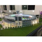 China Ho Scale Maquette Stadium With Light , Miniature Football Stadium Model for sale
