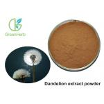 China Free Sample Herbal Plant Extract Brown Yellow Dandelion Extract Powder for sale