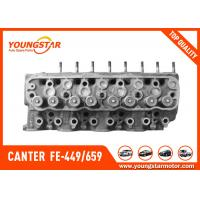 China Complete Cylinder Head For MITSUBISHI 4D34 Canter  FE-449 / 659ME997711  ME990196  ME997799     ME993222 for sale