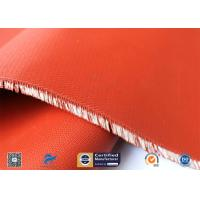 China C - Glass 3732 Two Side Red Silicone Rubber Coated Fiberglass Fabric supplier