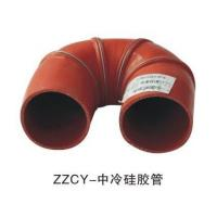 Standard Size Bus Accessories Red Color Intercooled Silicone Tube For Yutong