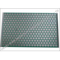 Flat PWP Solid Control Shaker Screen Panel Hookstrip Tension ISO Approval for sale