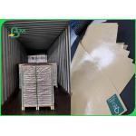 China 50g + 15gsm Brown Kraft PE Coated Sugar Packaging Paper 100% Food Safe for sale